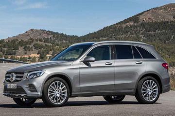 Nuevo Mercedes-Benz GLC SUV diesel en renting
