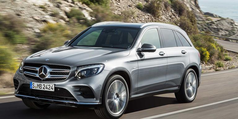 Mercedes-Benz GLC SUV diesel en renting